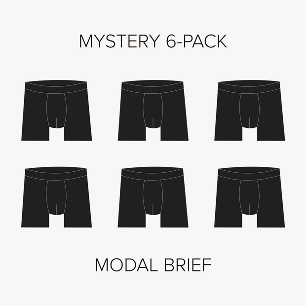 Modal Brief Mystery 6-Pack
