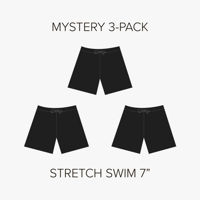 "Stretch Swim 7"" Mystery 3-Pack"