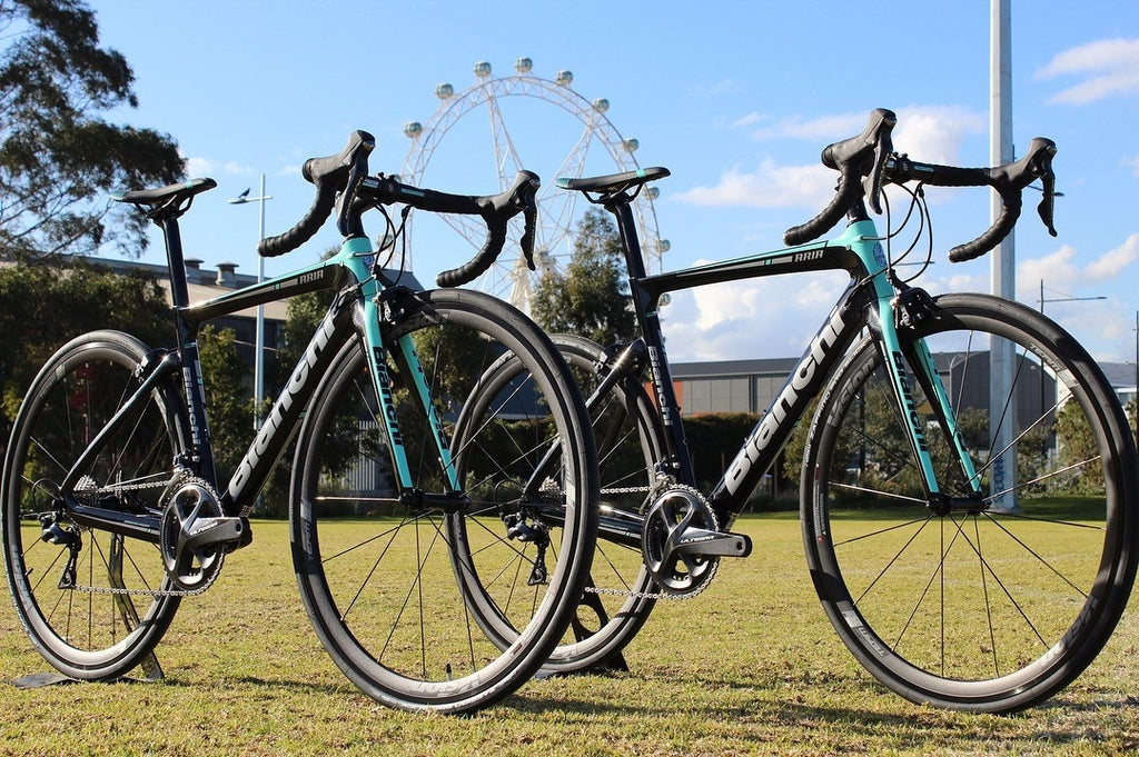 Road Bike Hire Melbourne Bianchi Aria Rent Guided Ride Tours Bike Now Corporate Cycling