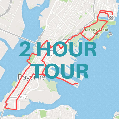2 Hour Guided Road Bike Tour / Jersey City