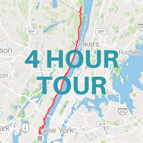 4 Hour Guided Road Bike Tour / Jersey City