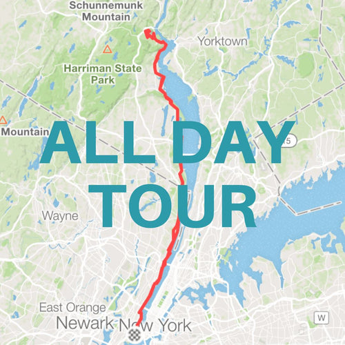 All Day Guided Road Bike Tour / Jersey City