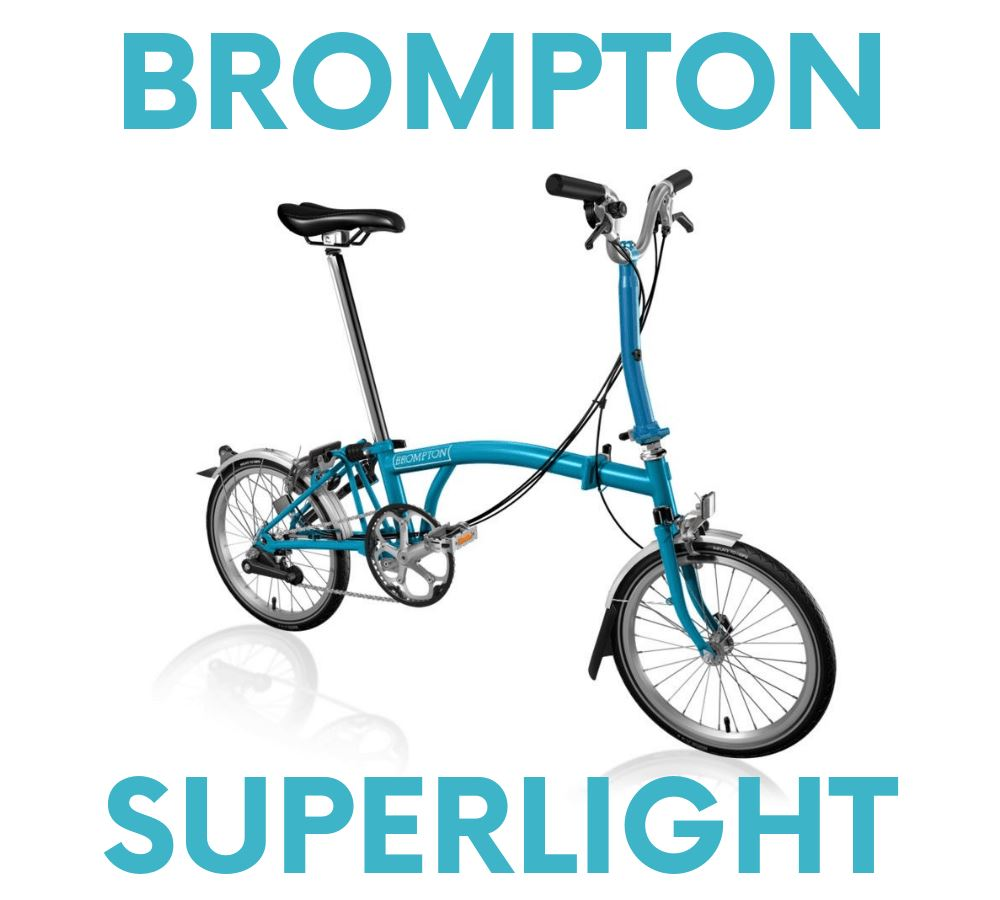 Brompton 2 Speed Superlight Bike Rental - Los Angeles