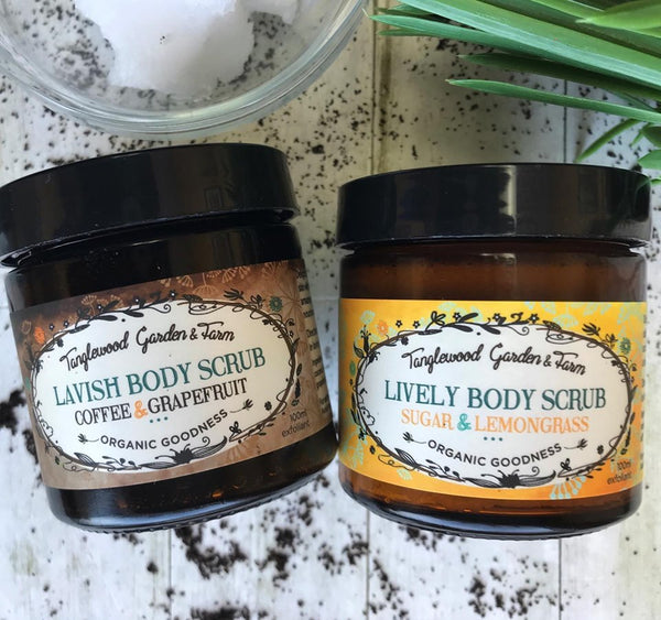 Body Scrubs Organic ~ Exfoliation Heaven