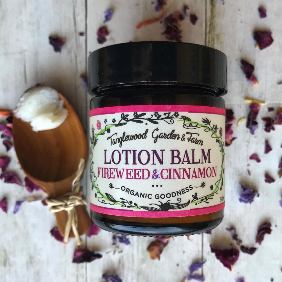 Lotion Balm~ Fireweed herbal organic goodness