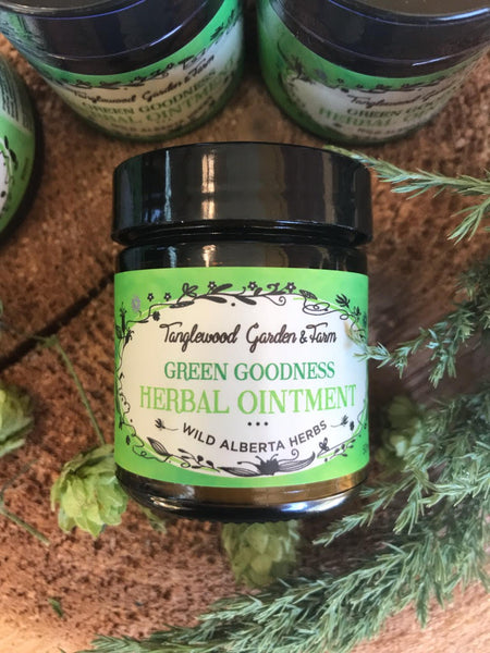 Green Goodness Herbal Ointment