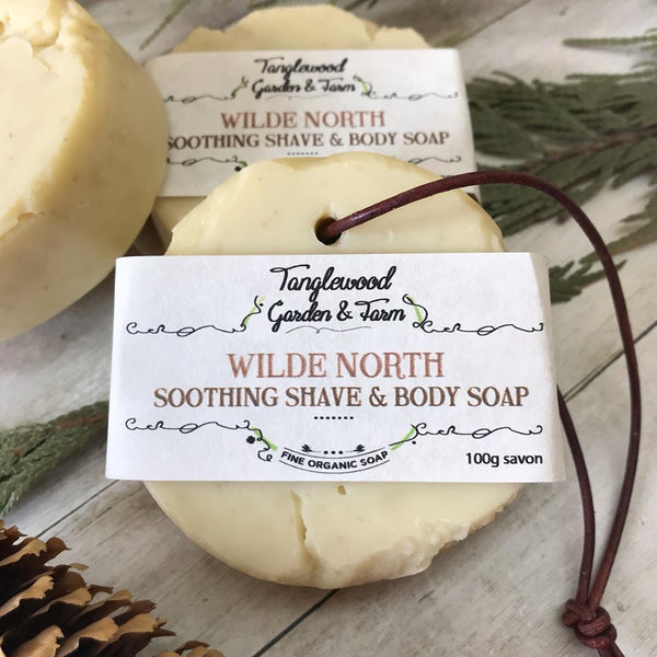 Wilde North ~Soothing Woodsy Shave & Body Organic Soap