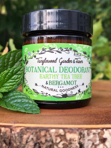 Natural Deodorant in 50ml Glass Jar~ Toxin Free, Organic, and Effective!