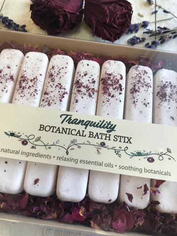 Botanical Bath Stix~ our elegant version of bath bombs