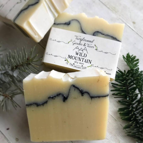 Wild Mountain ~ Birch & Fir Organic Artisan Soap