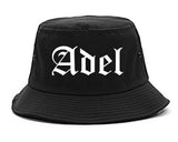 Adel Georgia GA Old English Mens Bucket Hat Black