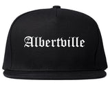 Albertville Alabama AL Old English Mens Snapback Hat Black