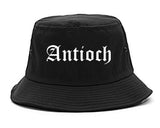 Antioch Illinois IL Old English Mens Bucket Hat Black