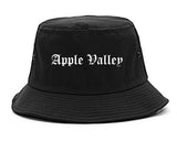 Apple Valley California CA Old English Mens Bucket Hat Black