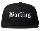 Barling Arkansas AR Old English Mens Snapback Hat Black