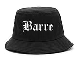 Barre Vermont VT Old English Mens Bucket Hat Black