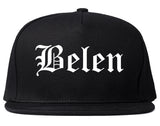 Belen New Mexico NM Old English Mens Snapback Hat Black