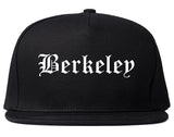 Berkeley Illinois IL Old English Mens Snapback Hat Black