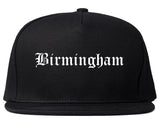 Birmingham Michigan MI Old English Mens Snapback Hat Black