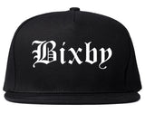 Bixby Oklahoma OK Old English Mens Snapback Hat Black