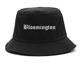 Bloomington Indiana IN Old English Mens Bucket Hat Black