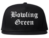 Bowling Green Kentucky KY Old English Mens Snapback Hat Black