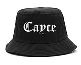 Cayce South Carolina SC Old English Mens Bucket Hat Black