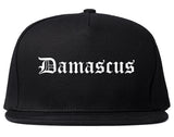 Damascus Oregon OR Old English Mens Snapback Hat Black