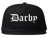 Darby Pennsylvania PA Old English Mens Snapback Hat Black