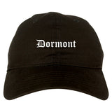 Dormont Pennsylvania PA Old English Mens Dad Hat Baseball Cap Black