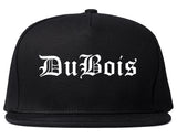 DuBois Pennsylvania PA Old English Mens Snapback Hat Black