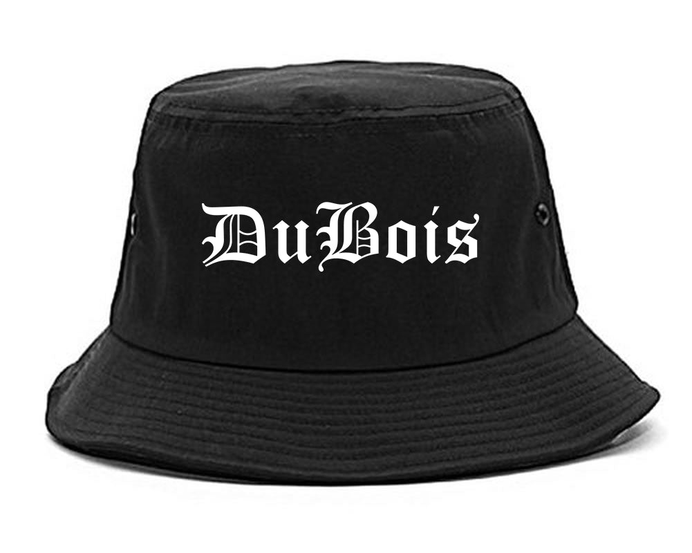 DuBois Pennsylvania PA Old English Mens Bucket Hat Black