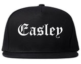 Easley South Carolina SC Old English Mens Snapback Hat Black