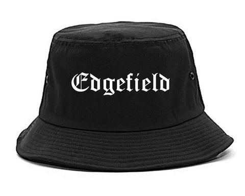 Edgefield South Carolina SC Old English Mens Bucket Hat Black