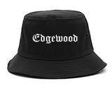 Edgewood Kentucky KY Old English Mens Bucket Hat Black
