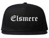 Elsmere Kentucky KY Old English Mens Snapback Hat Black