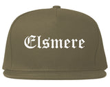 Elsmere Kentucky KY Old English Mens Snapback Hat Grey