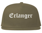 Erlanger Kentucky KY Old English Mens Snapback Hat Grey