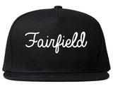 Fairfield Ohio OH Script Mens Snapback Hat Black