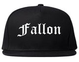 Fallon Nevada NV Old English Mens Snapback Hat Black