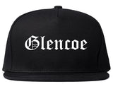 Glencoe Illinois IL Old English Mens Snapback Hat Black