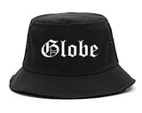 Globe Arizona AZ Old English Mens Bucket Hat Black