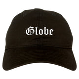 Globe Arizona AZ Old English Mens Dad Hat Baseball Cap Black