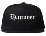 Hanover Pennsylvania PA Old English Mens Snapback Hat Black