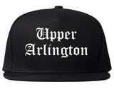 Upper Arlington Ohio OH Old English Mens Snapback Hat Black
