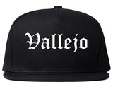 Vallejo California CA Old English Mens Snapback Hat Black