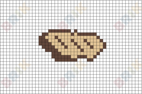 Steak 2 Pixel Art