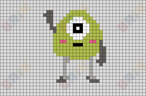 Mike Pixel Art