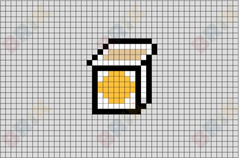 Yogurt Pixel Art
