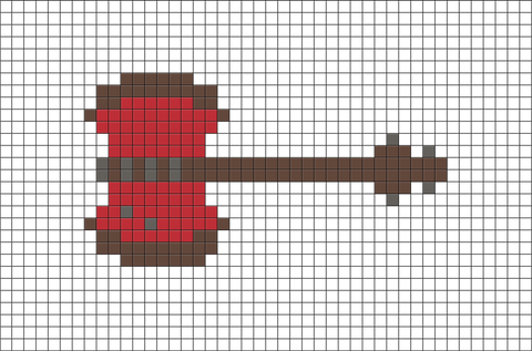 Adventure Time Marceline Pixel Art